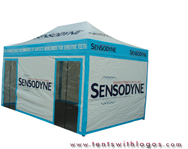 10 x 20 Pop Up Tent - Sensodyne