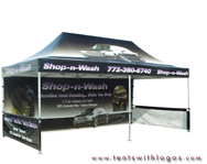 10 x 20 Pop Up Tent - Shop'n'Wash