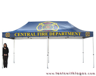 10 x 20 Standard Tent - Central Fire Department