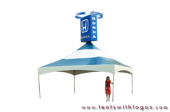 20 x 20 Tent in Motion - Honda