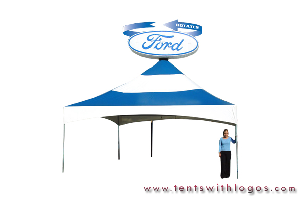 20 x 20 Tent in Motion - Ford