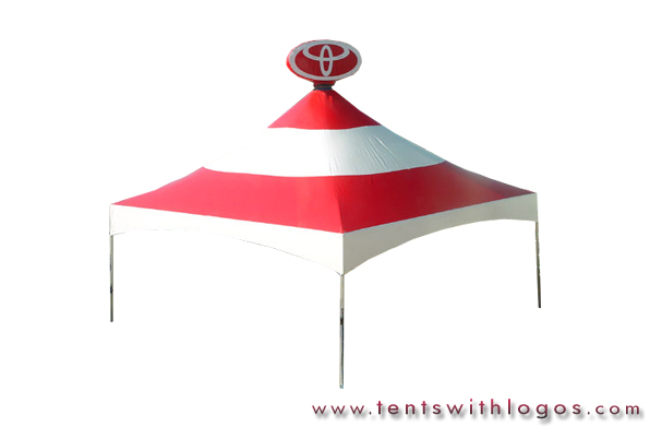 20 x 20 Tent in Motion - Toyota