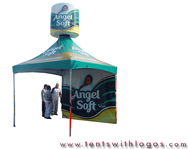 10 x 10 Tent in Motion - Angelsoft