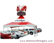 20 x 20 Tent in Motion - Dodge
